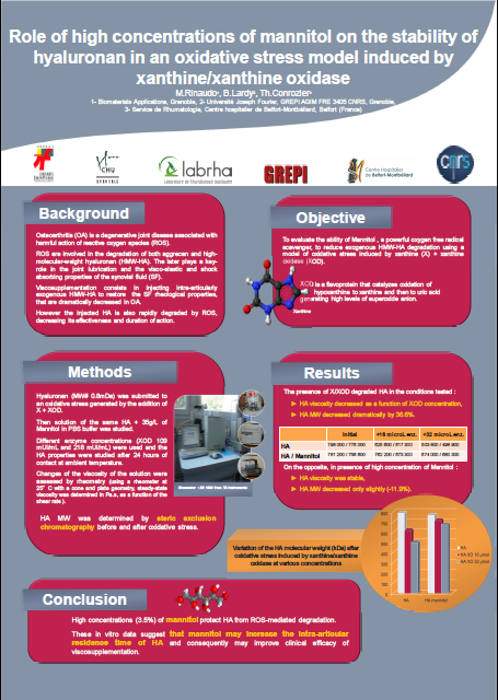 Poster mannitol OARSI 2014